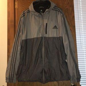 adidas jacket with hood